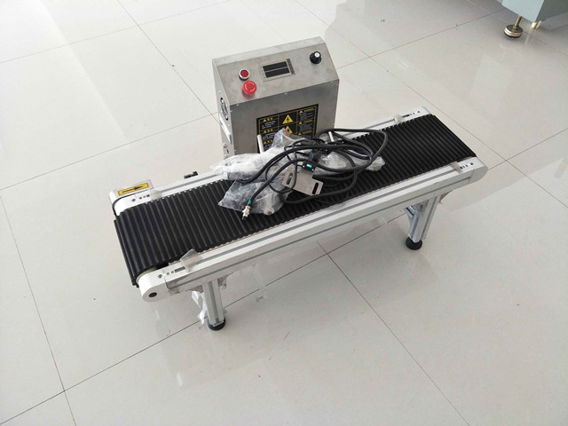 Conveyor Belt for Pen Marking on Fiber Laser Marking Machine